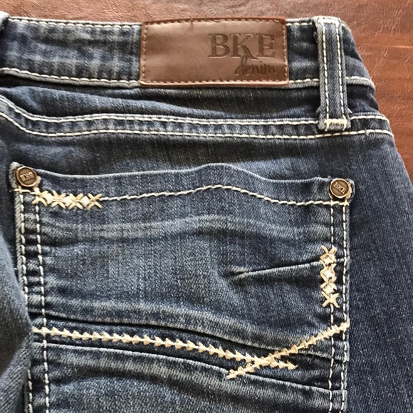 """BKE jeans size 26"""" x 33.5 used"""